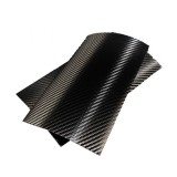 Clearplex Carbon Fiber Film 7/8 inch Black 10 pcs