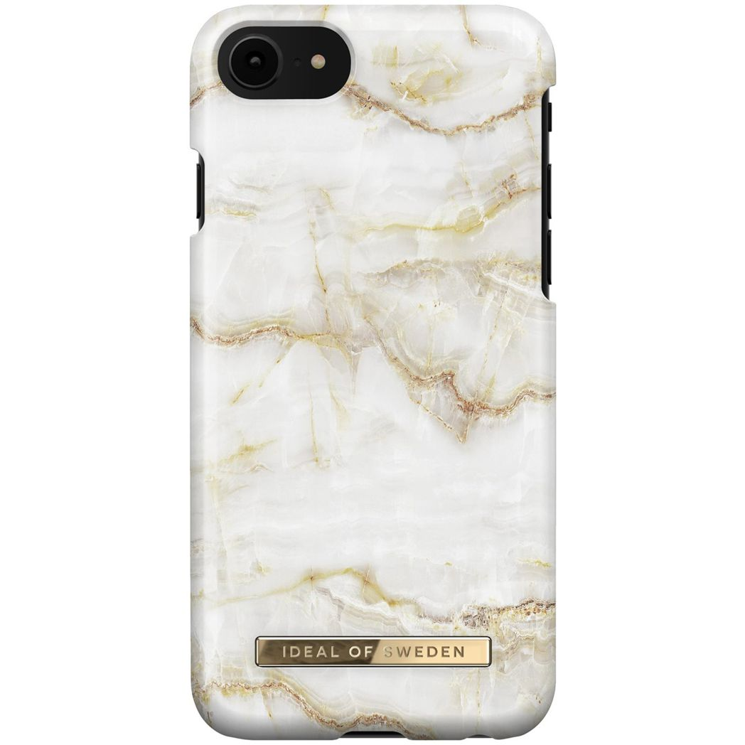 ideal of sweden back case iphone 678se2020 golden pearl marble