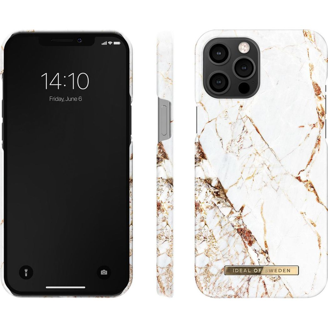 ideal of sweden fashion case carrara gold iphone 12 pro max