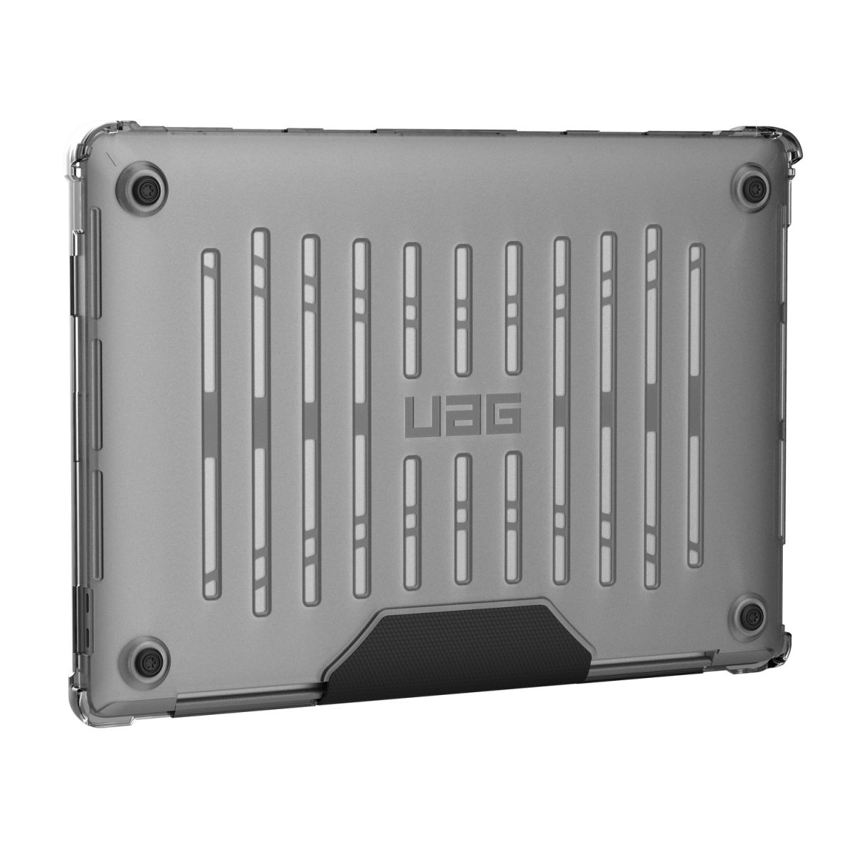 uag laptop case macbook pro 16 inch plyo ice transparant