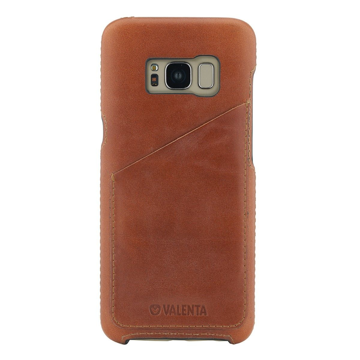 valenta back cover classic luxe brown galaxy s8 plus