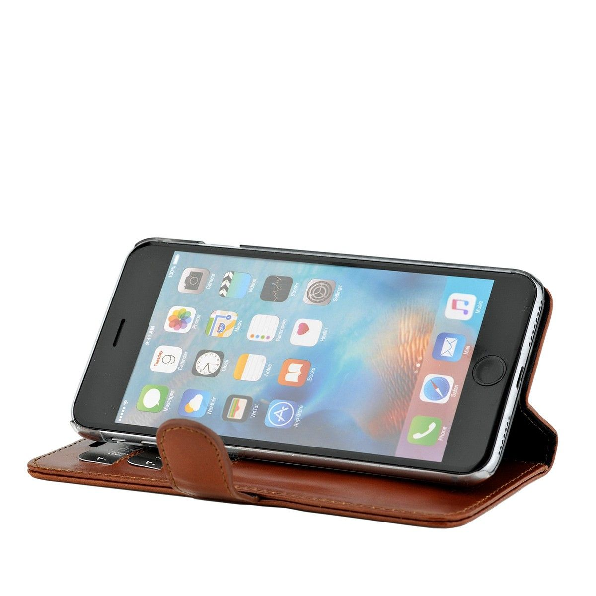 valenta booklet classic luxe brown iphone 78se 2020