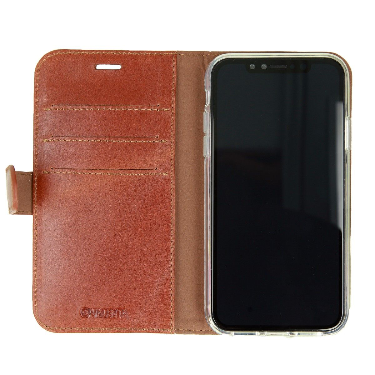 valenta booklet classic luxe brown iphone xr