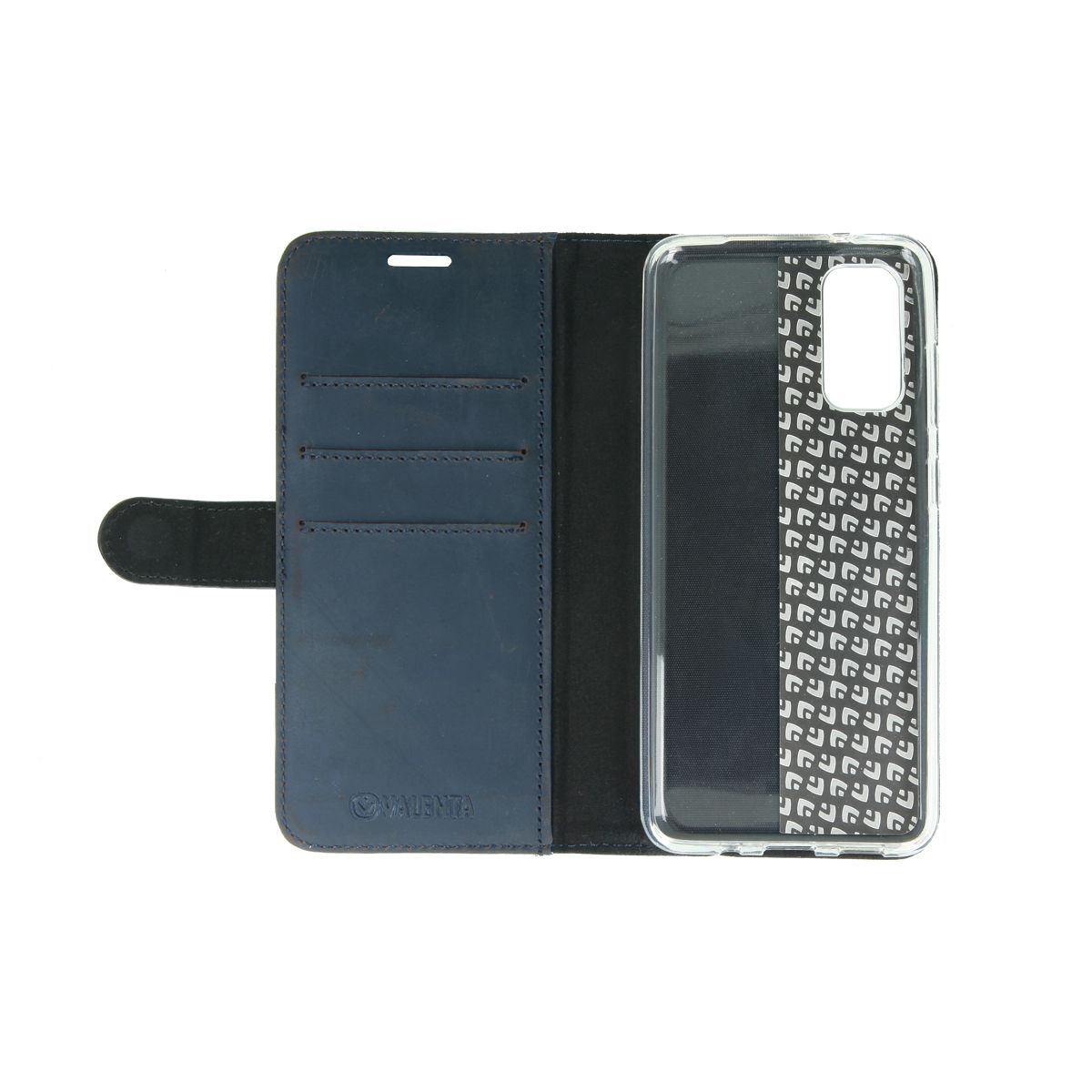 valenta booklet classic luxe vintage blue galaxy s20